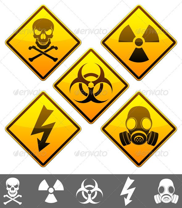 Warning Signs | Señales de advertencia, Advertencia y Colibri