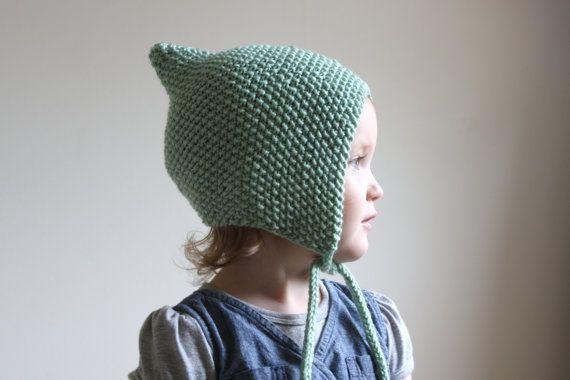 Knit Baby Pixie Bonnet Toddler Pixie Hat by hilaryfrazier, $34.00 ...