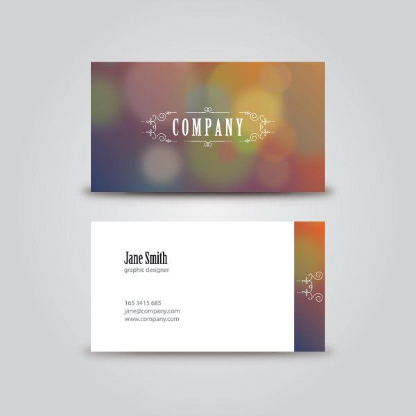 Vintage business card vector graphic business card corporate vintage business card vector graphic business card corporate template artistic elegant reheart Gallery