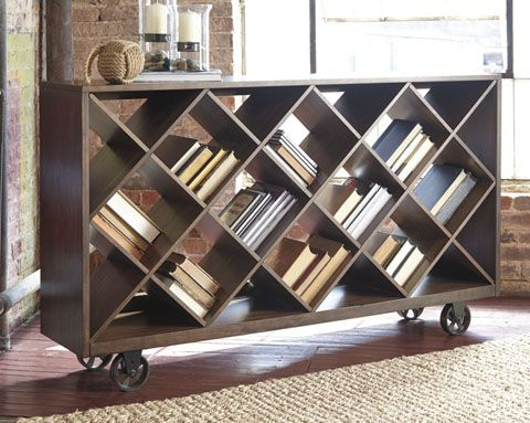 Wine Rack, Bookshelf, Room Divider, and more. This Starmore is versatile and beautiful.