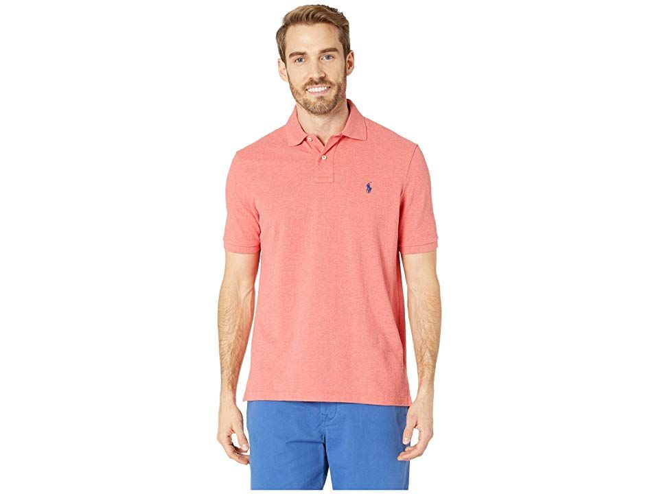 3062126e9 Polo Ralph Lauren Classic Fit Polo (Highland Rose Heather) Men's Clothing.  This timeless