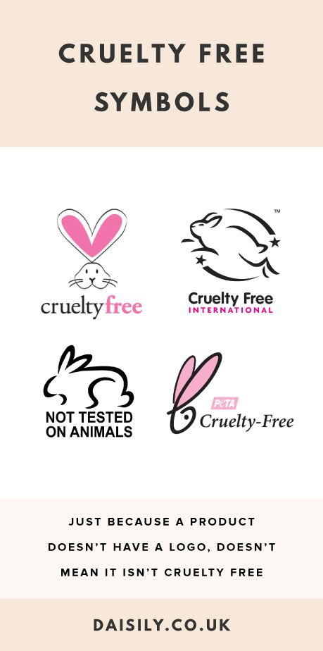How To Tell If A Product Is Cruelty Free Symbols To Look Out For