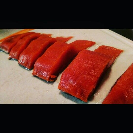 Going on the grill ... Fresh caught #chinook