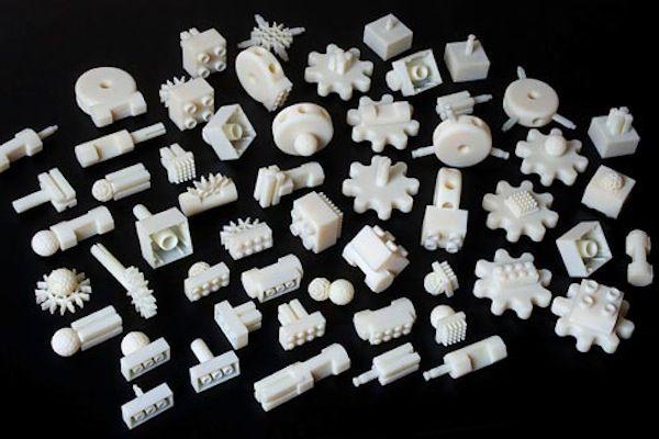 3d Gedruckte Adaptersteine Fur Lego Fischertechnik Und Viele Mehr Video Fischertechnik 3d Drucker Vorlagen 3d Prints