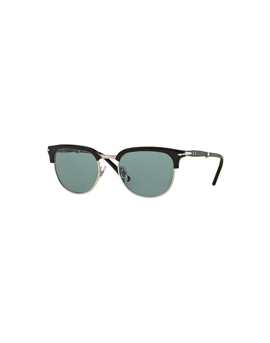 fc5952dc3e6 Persol Suprema Icon Sunglasses Black Blue