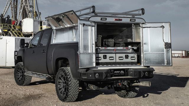 Really Starting To Love These Cargo Trucks Really Thinking Of Going This Route With The Brival Trucks Truck Caps Work Truck Custom Truck Beds