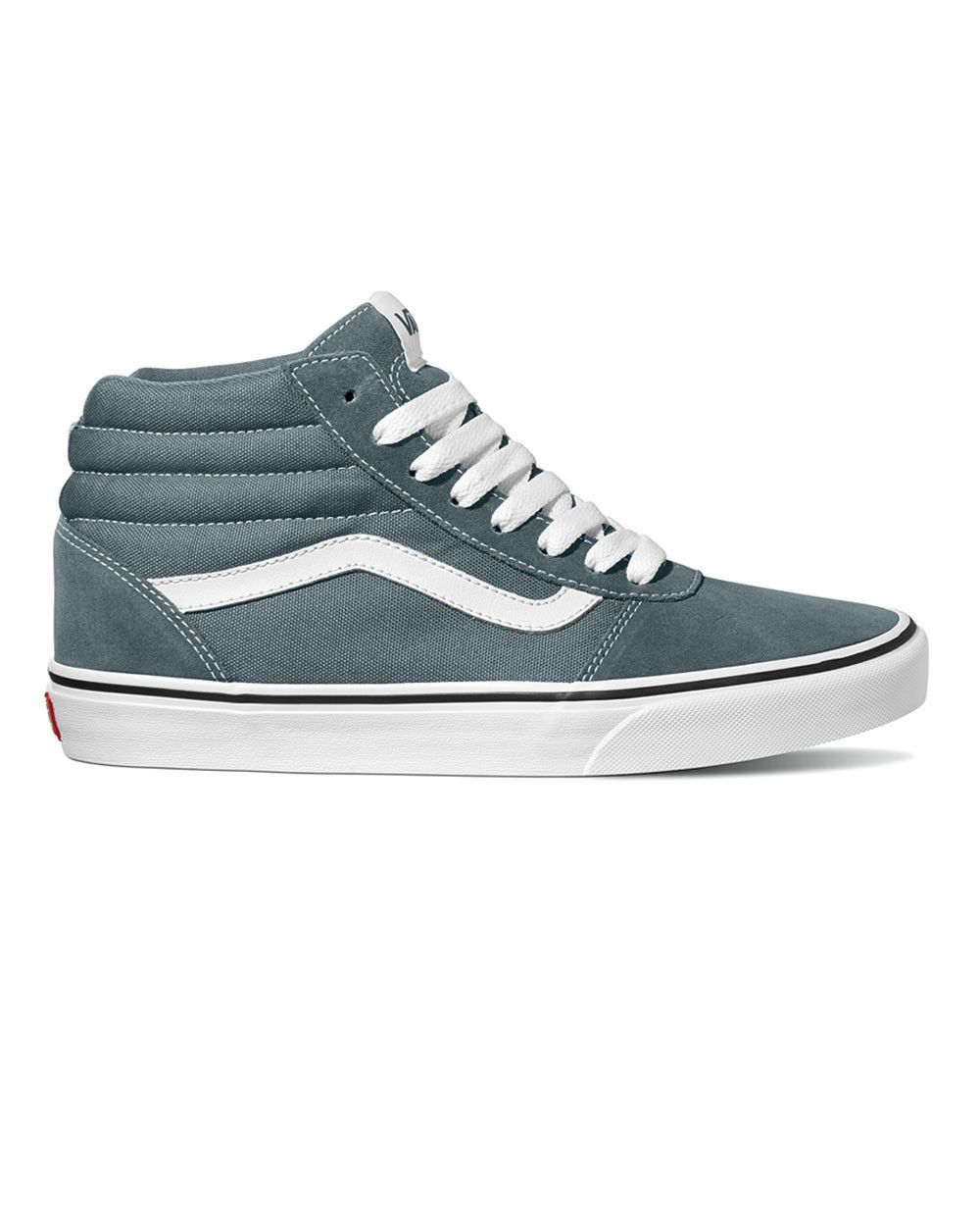24e55ba68c6 Vans Ward Hi (stormy weather white). Available in size 13-15.  size13   size14  size15  bigfeet  bigshoes  bigtrainers  vans  footwear  tall   tallmen   ...