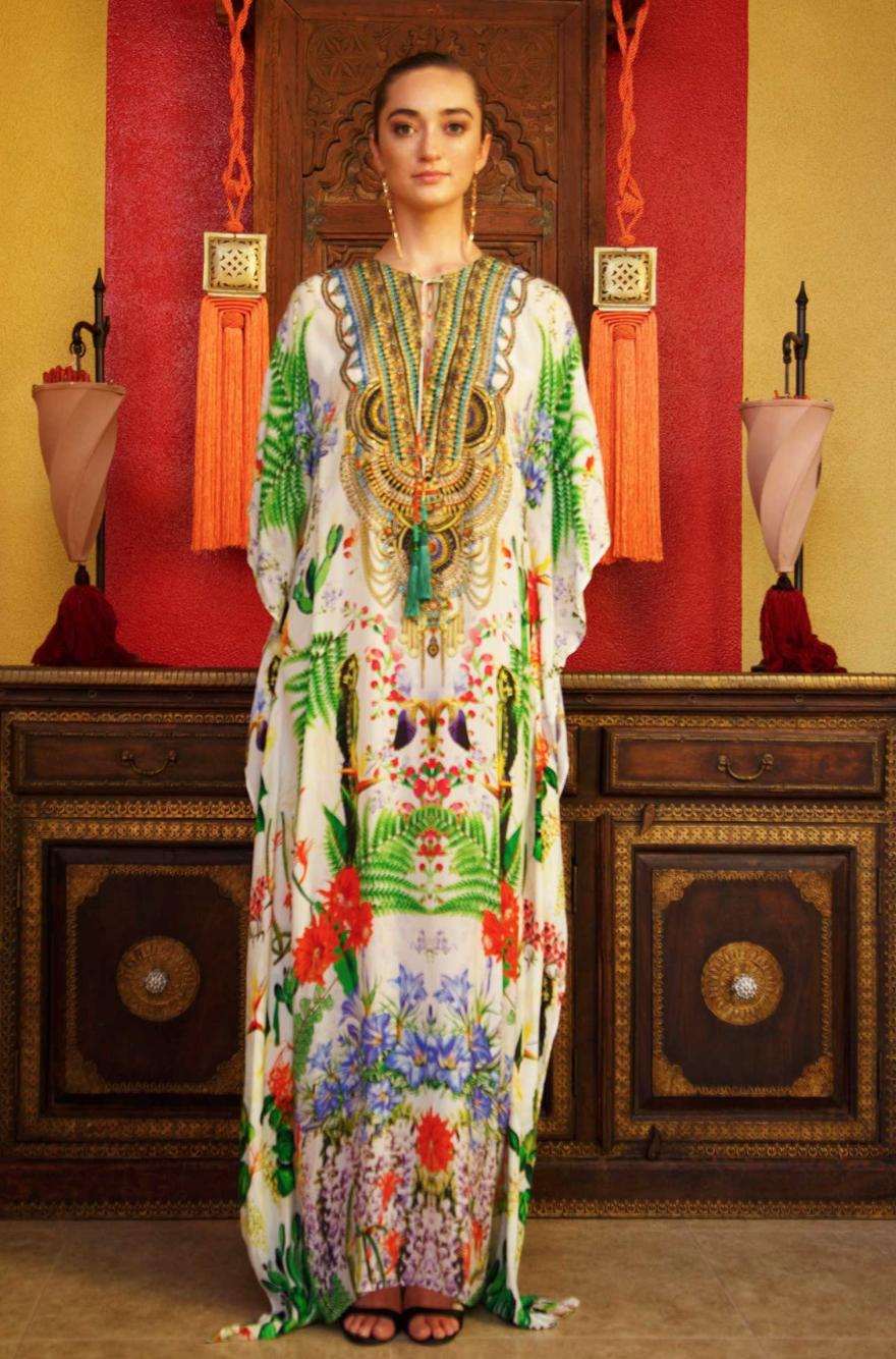 02d2253b1 Desert bloom shahida parides kaftan   Caftan ,Kasbah, Kimono ...