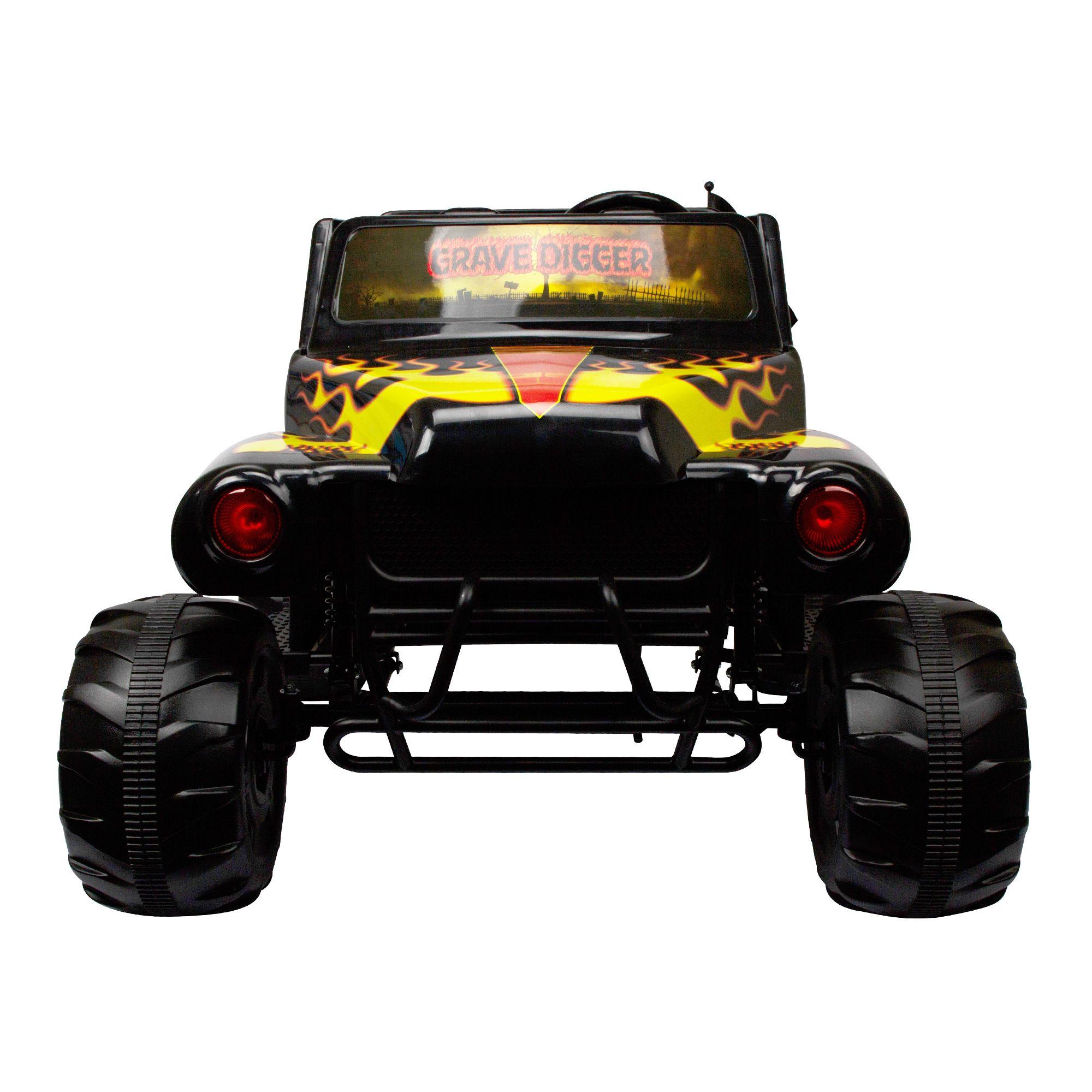 Monster Jam Grave Digger 24-Volt Battery Powered Ride-On # ...