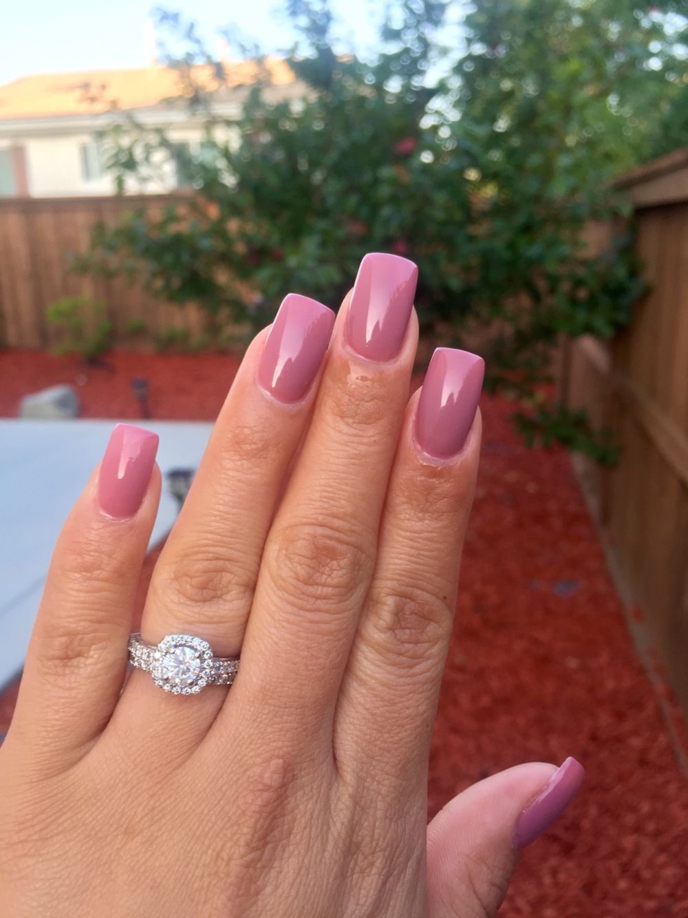 Removal of 3 month acrylics and a new set with light pink gel polish ...