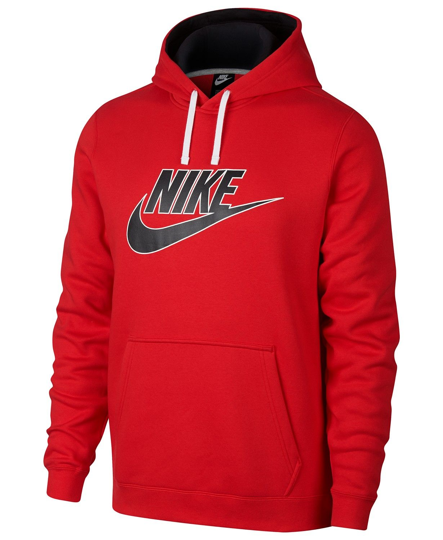 Nike Men S Sportswear Futura Logo Hoodie Hoodies Sweatshirts Men Macy S Nike Hoodies For Men Nike Clothes Mens Mens Sweatshirts [ 1500 x 1230 Pixel ]