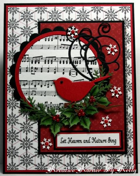 Let Heaven and Nature Sing by kcs1955 - Cards and Paper Crafts at Splitcoaststampers #holidaysinjuly