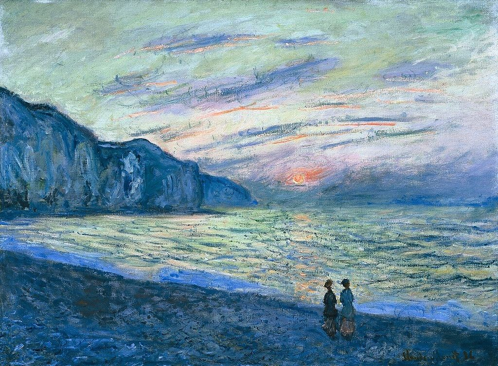 1882, Claude Monet: Pourville.