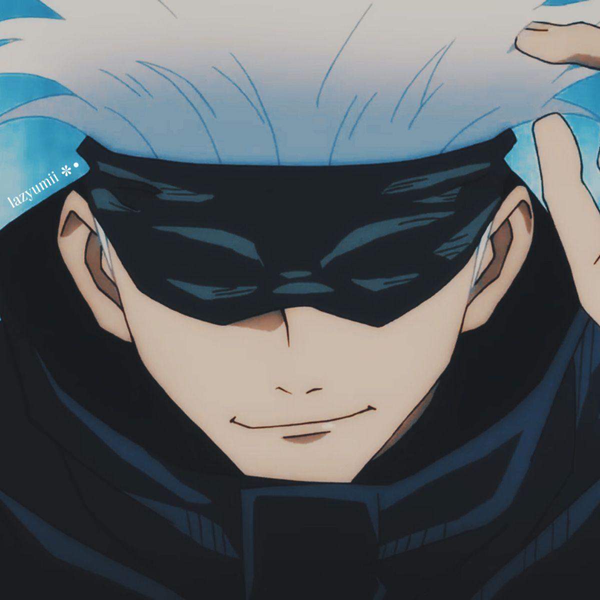 Icon Satoru Gojo Anime Jujutsu Blue Exorcist Rin