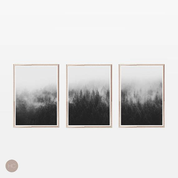 Set of 3 printsscandinavian printsblack and white printswall art prints digital downloadnordicprints wall artscandinavian art prints we offe