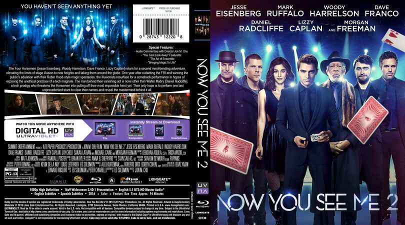 now you see me 2 subtitles