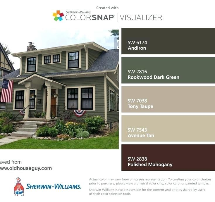 Image Result For Craftsman Exterior Colors Green Exterior House Colors Exterior Paint Colors For House Exterior House Colors