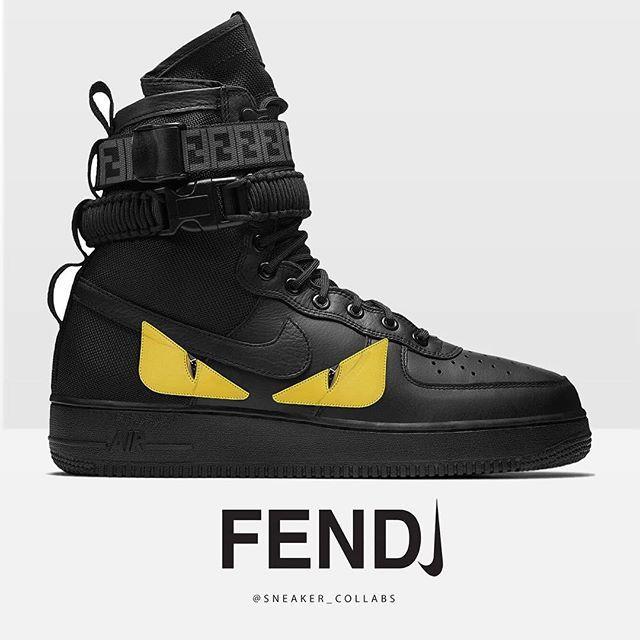 """⚠️SF AF1 """"Fendi""""⚠️"""