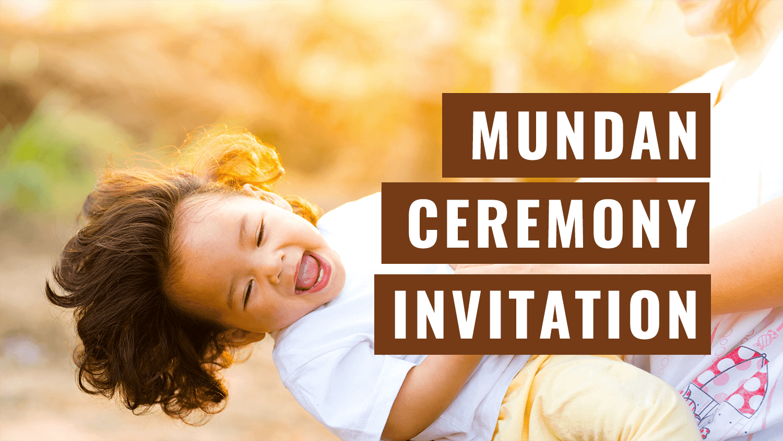 Wedding Invitation Ecard for Whatsapp Naming ceremony