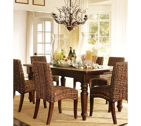 Sumner Extending Dining Table Pottery Barn Dining Table Design