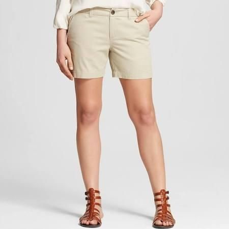 """Women's 5"""" Chino Short Vintage Khaki 14 - Merona - Brought to you by Avarsha.com"""
