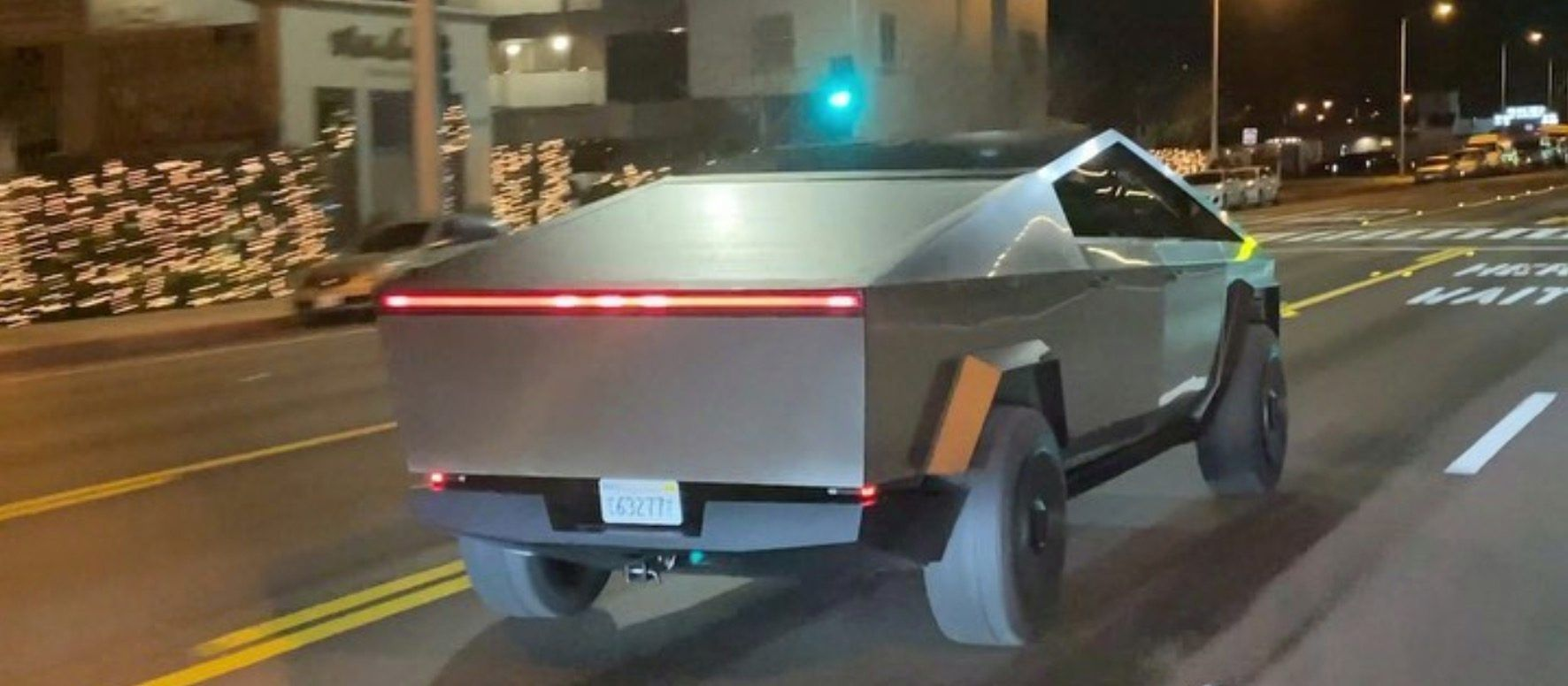 Watch Tesla Cybertruck Prototype Accelerate Like A Sports Car In