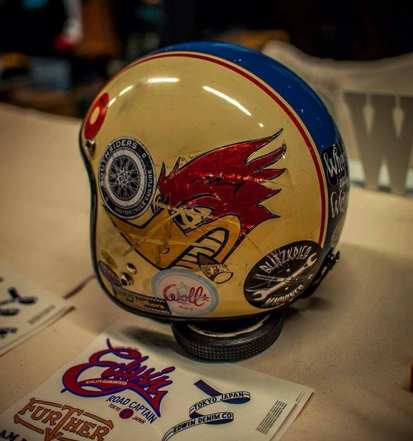 Clay Smith Cams Woody Wood Pecker Logo Helmet Motoveste