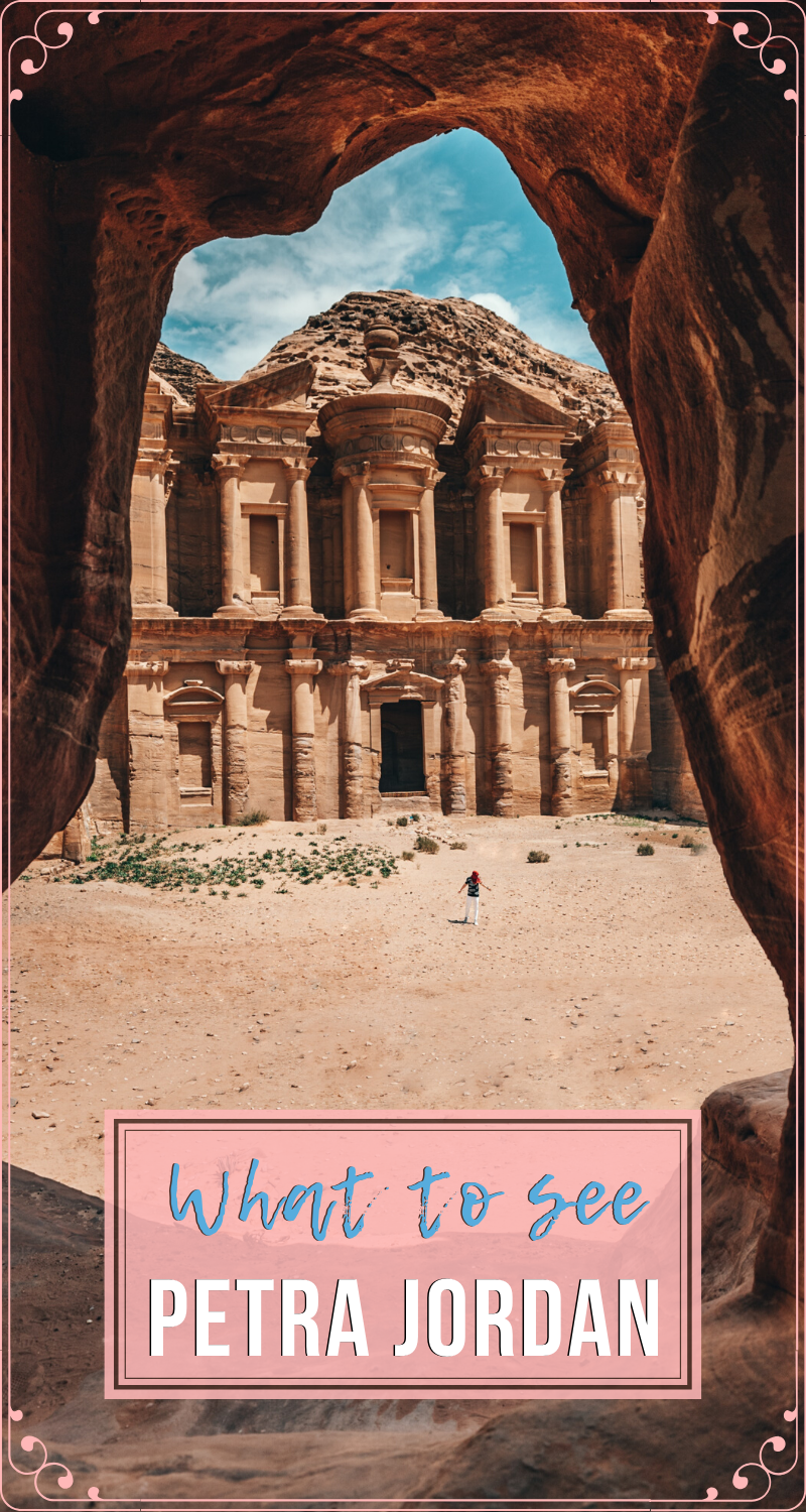 PETRA JORDAN What to see #traveltojordan