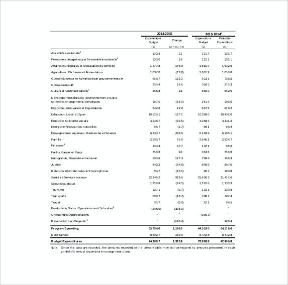 Capital Expenditure Budget Template Example Format   Excel