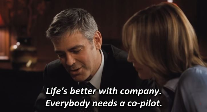 Up In The Air 2009 George Clooney Vera Farmiga Anna Kendrick