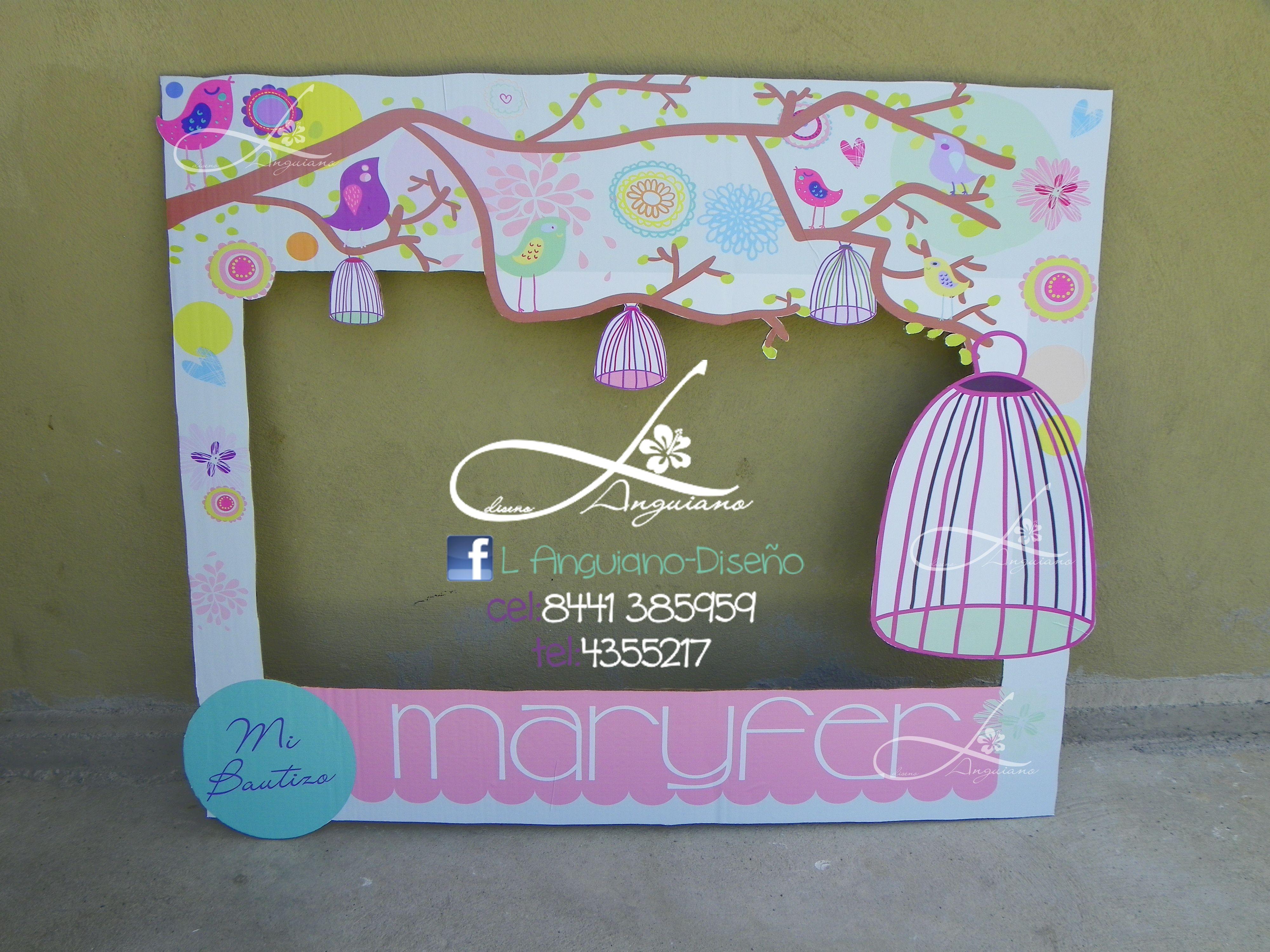 Hermoso Marco que hice para Maryfer, by. Linda Anguiano, saltillo ...