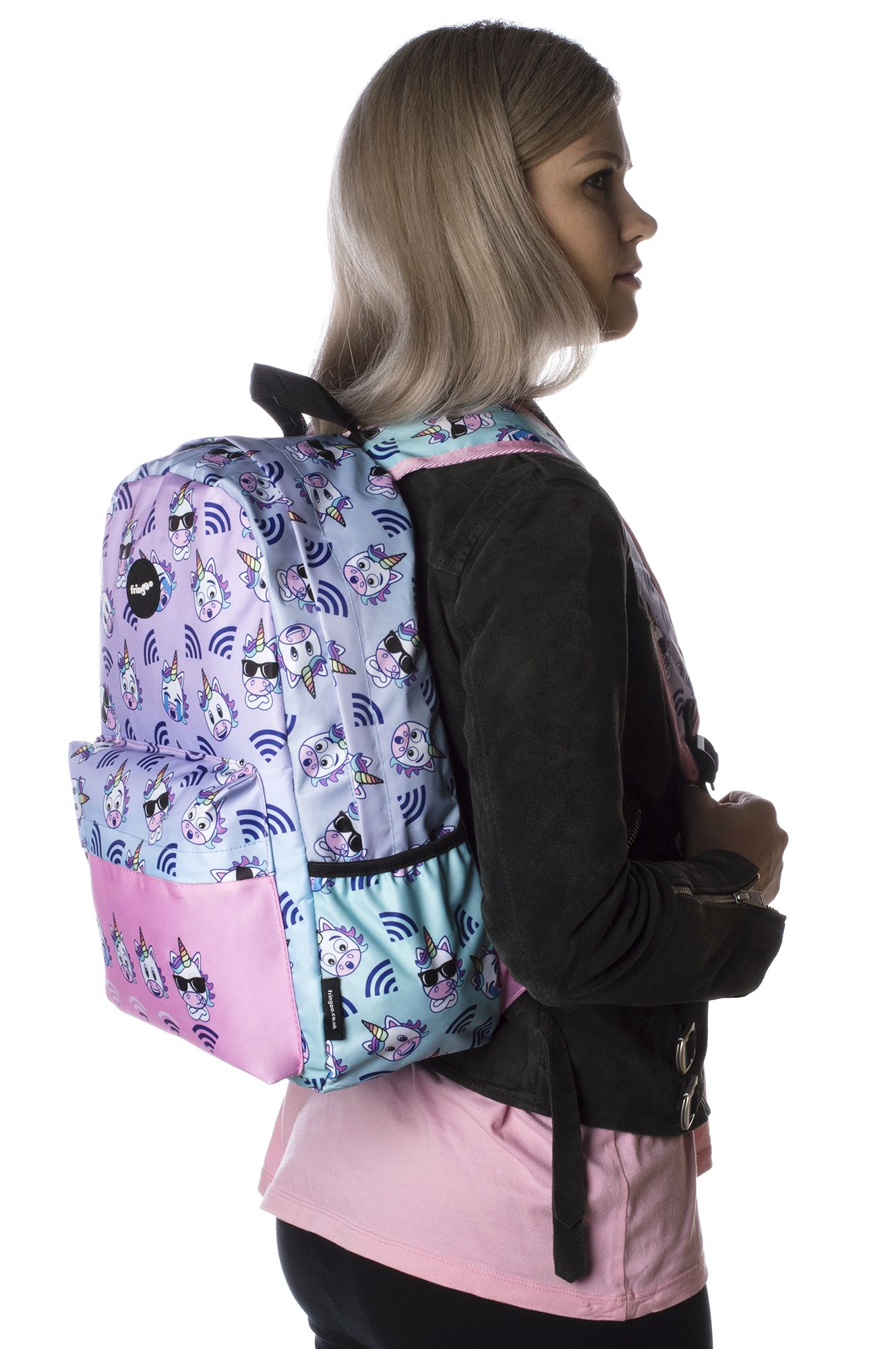 bde7aec9e01e Holo Unicorn Wifi waterproof backpack for kids. Super roomy main  compartment with built-in