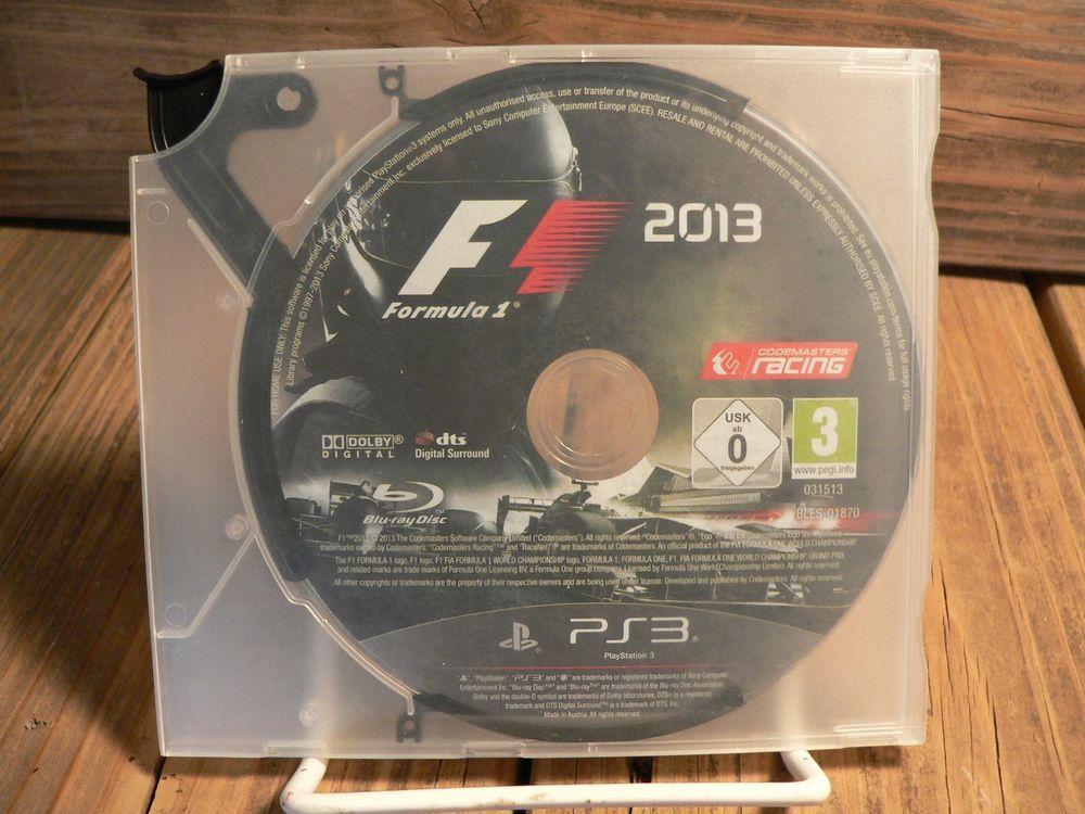 PS3 PlayStation 3 FORMULA ONE F1 2013   PS3 PlayStation 3