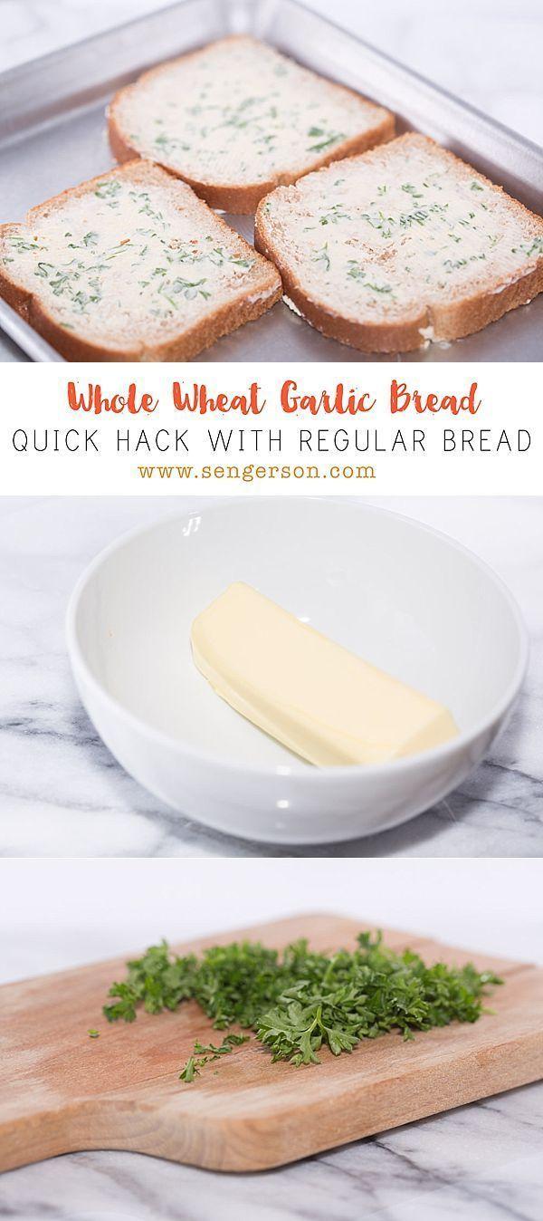Poor Man's Homemade Garlic Bread -