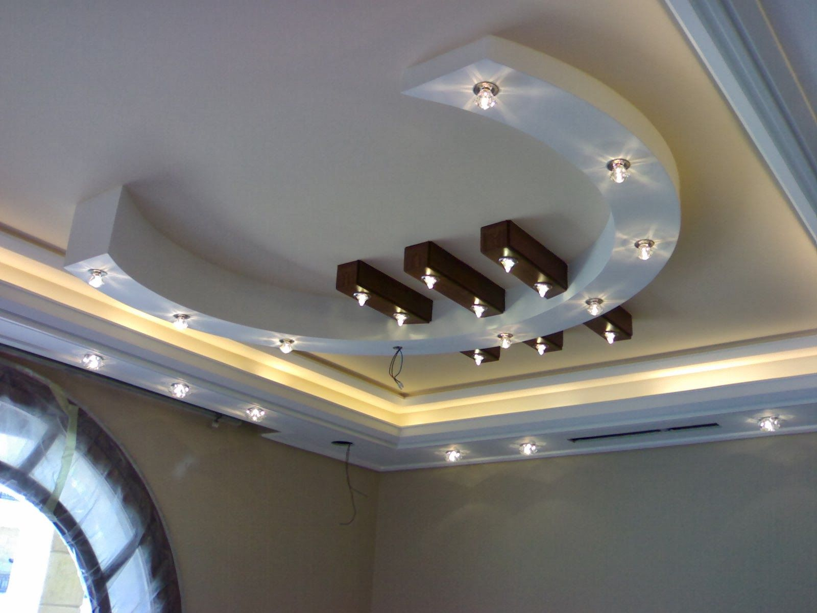 7 Gypsum False Ceiling Designs For Living Room Part 4 Part 32