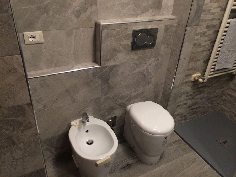 Rivestimenti bagno pietra : foto: rivestimento bagno in pietra di 3g