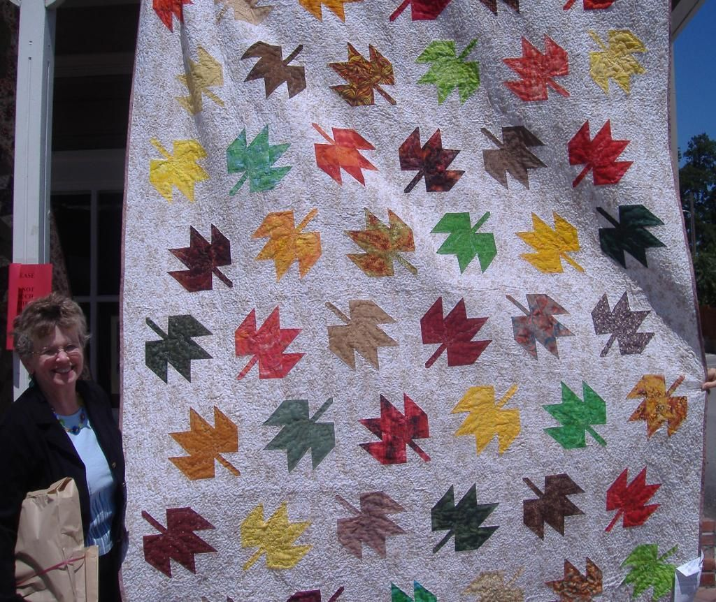 Looking for quilting project inspiration? Check out Fluttering Leaves by member emthep. - via @Craftsy