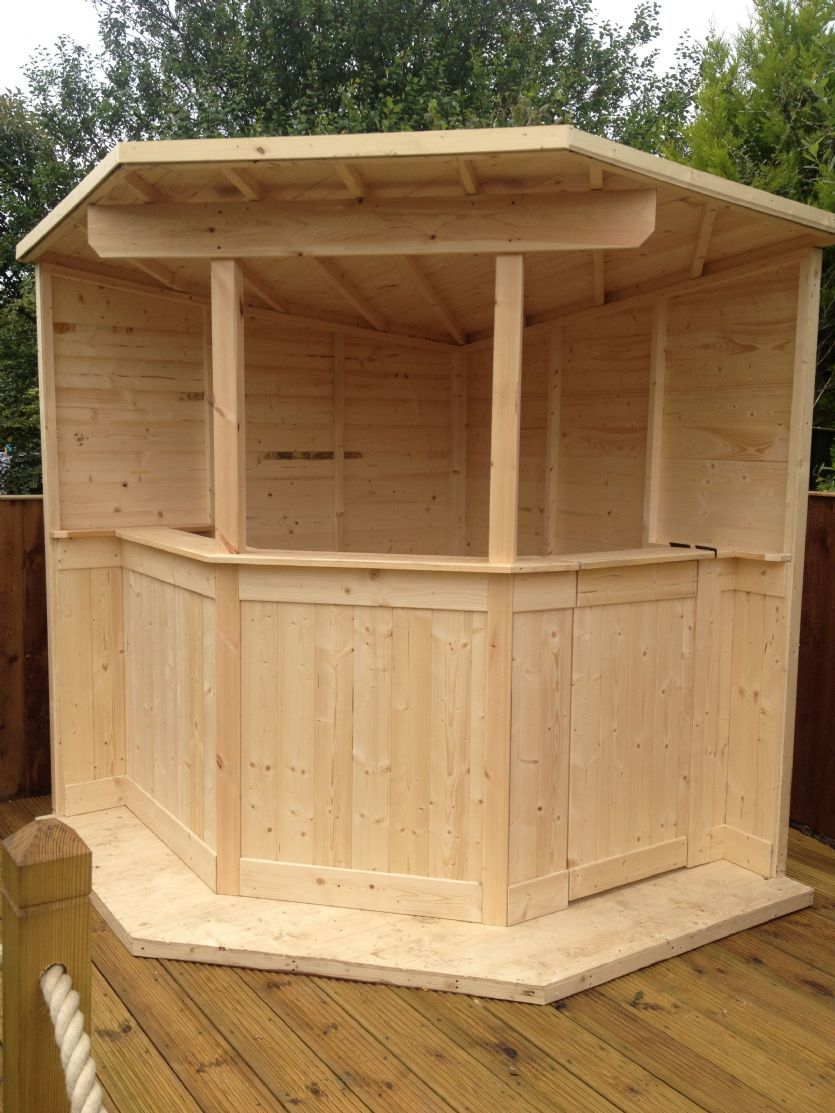 Garden bar proyecto 2 in 2019 artesanias con bambu for Jardineria al aire libre casa pendiente