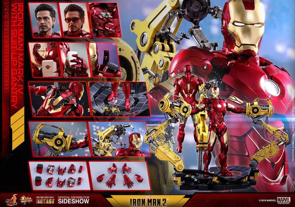 Hot Toys Cosbaby Avengers Iron Man Mark IV Marvel Comics Tony Stark Brand New