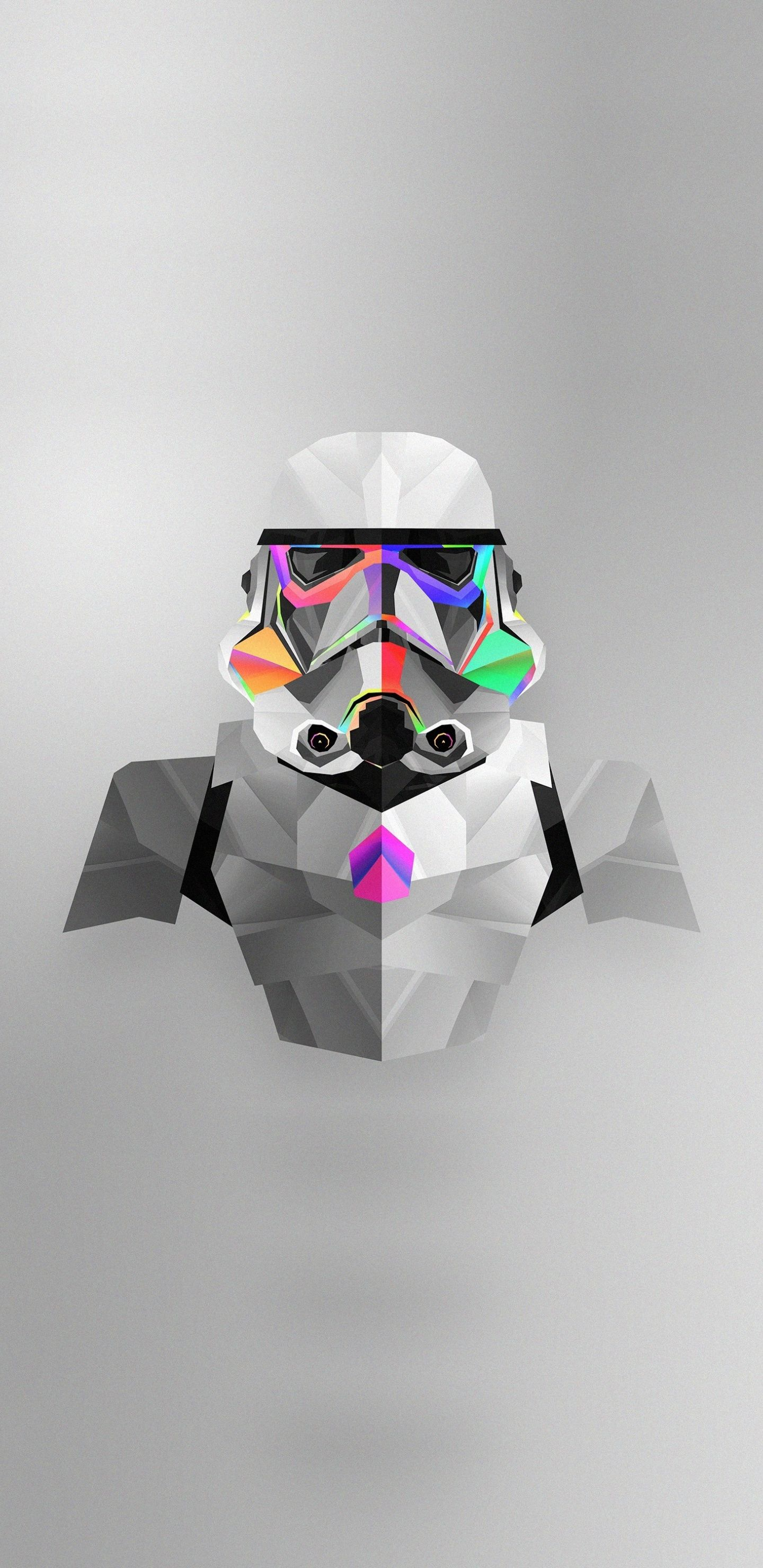 Download 1440x2960 Wallpaper Stormtrooper Abstract Star Wars Colorful Minimal Art Samsung Galaxy S8 In 2020 Star Wars Wallpaper Star Wars Art Star Wars Trooper