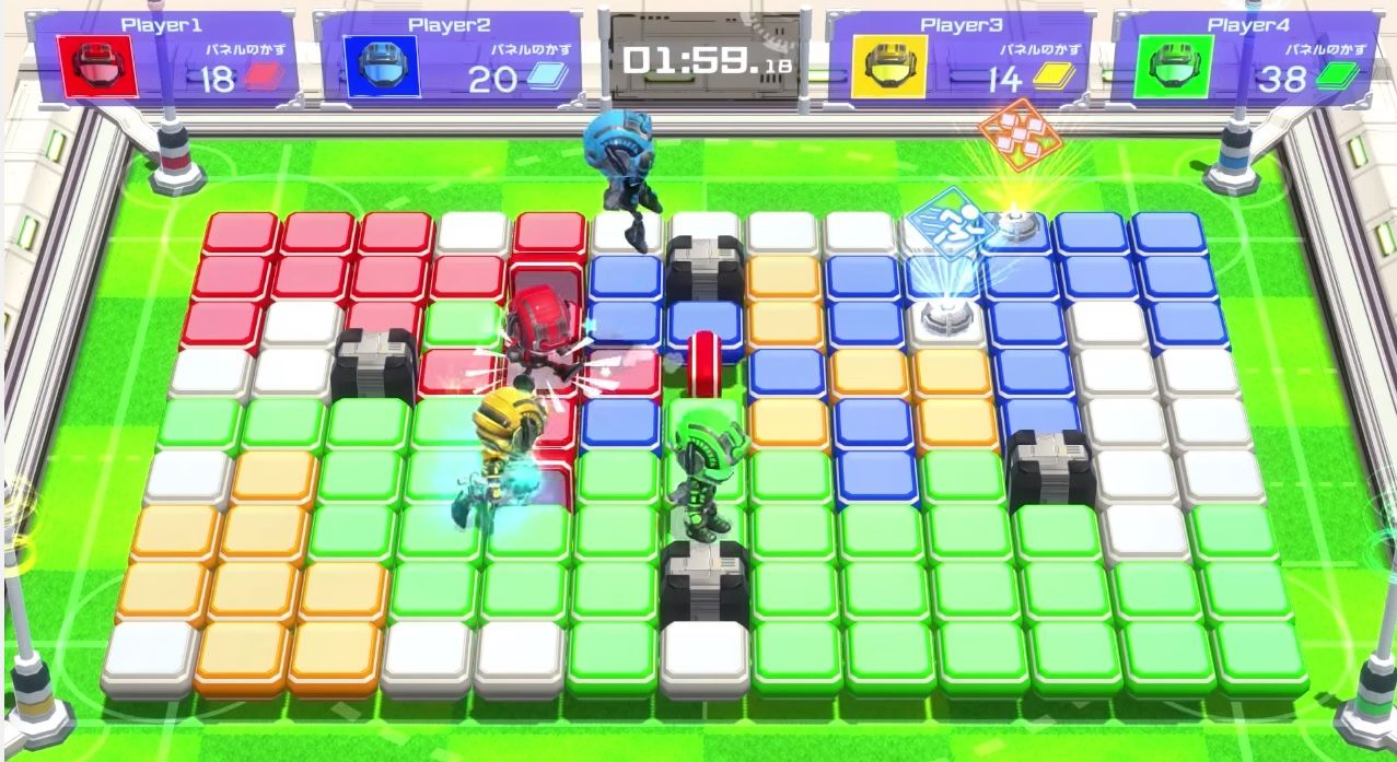 Switch party game Battle Sports Mekuru is out on May 18 in