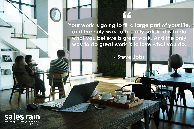 Steve Jobs Coworking, Flexible work space, Private office
