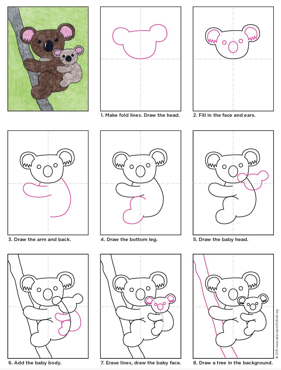 Koala In 2018 Drawing Ideas Pinterest Drawings Art And How To Draw A Diagram
