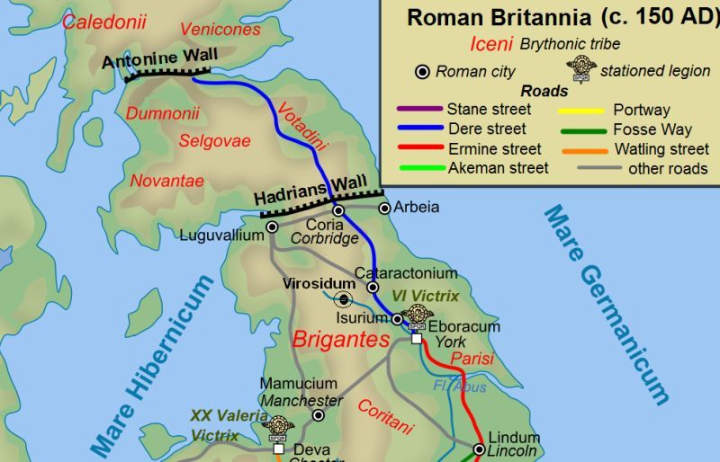 Antonine Wall Frontier Of Roman Empire Roman Britain