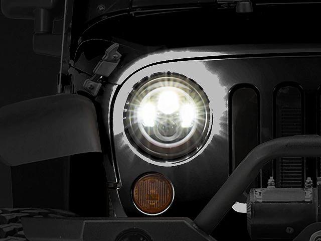 Axial Led Halo Headlights W Drl Amber Turn Signals 97 20 Jeep Wrangler Tj Jk Jl Led Halo Headlights Jeep Wrangler Jeep Wrangler Tj