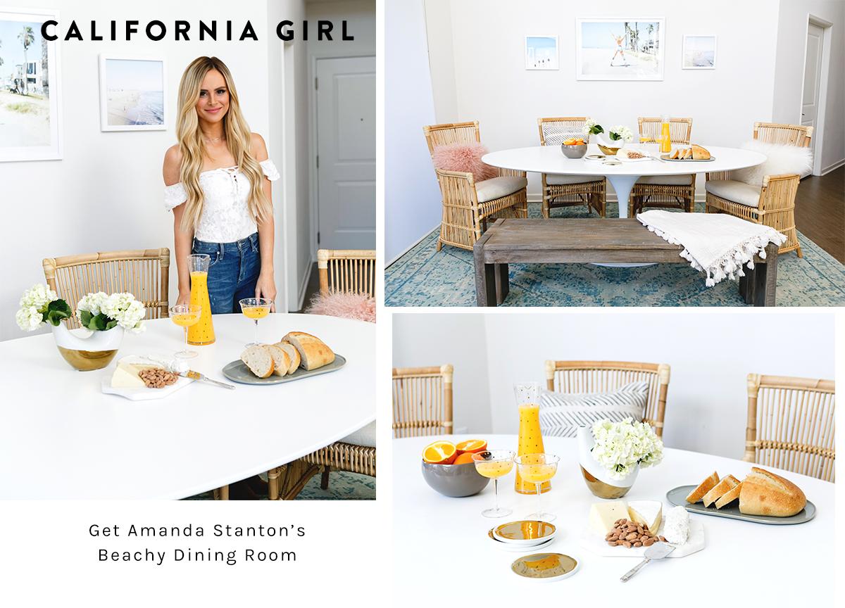 Amanda Stantonu0027s Beachy Dining Room | Lulu U0026 Georgia