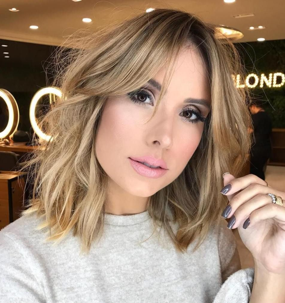 60 Super Chic Hairstyles For Long Faces To Break Up The