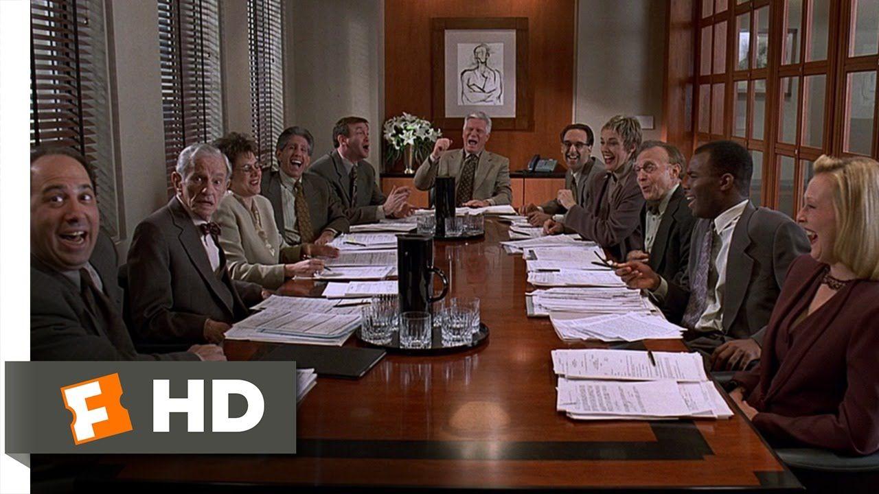 Liar Liar (7/9) Movie CLIP Roasting the Committee (1997