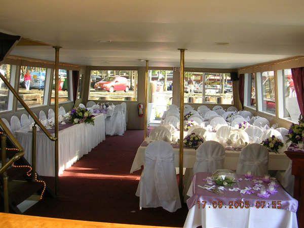 Wedding Reception On Yacht I Love Weddings Pinterest