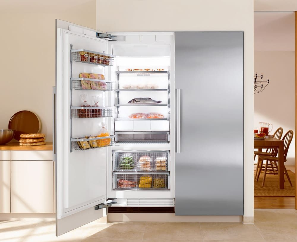 Miele MIREFR25 Side-by-Side Column Refrigerator & Freezer Set with ...